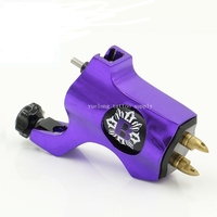 Yuelong Professional Bishop Tattoo Machine With RCA Connection clip cord silver Rotary Tattoo Gun Machine For Tattoo Supplier