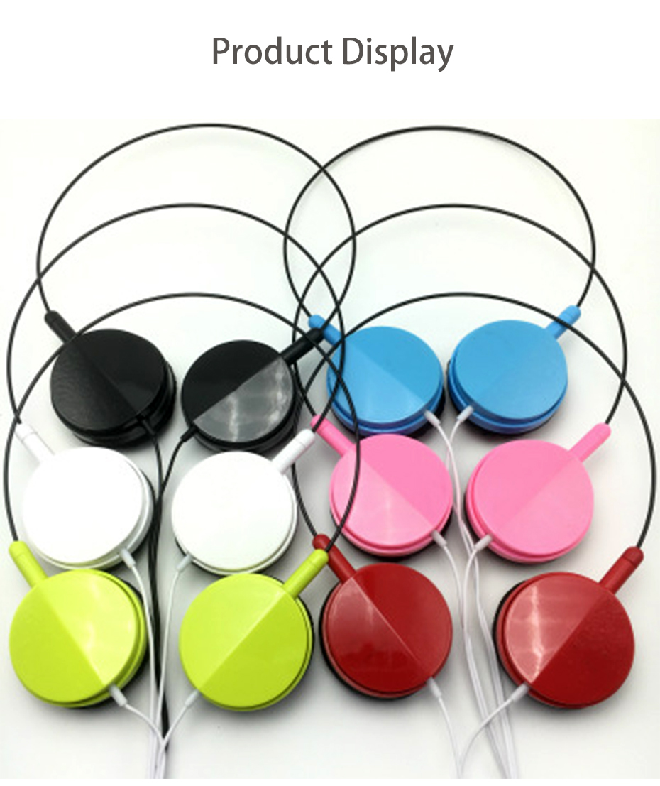 Wired Headphone With Microphone 3.5mm Stereo Music Headphones Portable Sport Headphone For Mobile Phone Computer PC (8)