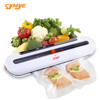 CYMYE Food Vacuum Sealer QH02 220V including 10Pcs bag can be use for food saver Sous Vide