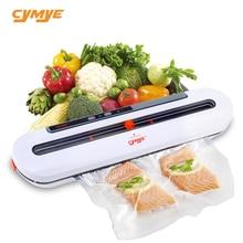 Cymye 식품 진공 실러 qh02 220 v 10 pcs 가방 포함 식품 보호기 sous vide에 사용할 수 있습니다