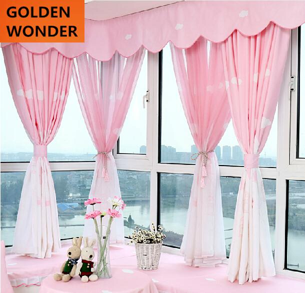 2016 new arrival Mediterranean style curtain pink curtains for ...