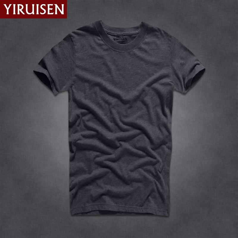 2018 Hot Πώληση YiRuiSen Μάρκα 100% βαμβάκι T-shirt - Ανδρικός ρουχισμός - Φωτογραφία 2