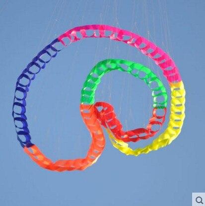Livraison gratuite de haute qualité 96 cercles pendentif cerf-volant doux cerf-volant jouets de plein air grand cerf-volant usine pieuvre cerf-volant bobine 3d hawk