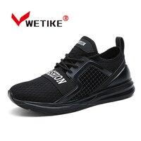 Ashion 2017 Verão Sapatos Leves Sapatos de Malha Ar Tênis de Corrida dos homens Das Sapatilhas Para Homens Sapatos Esportes Ao Ar Livre Plus Size EU39-45