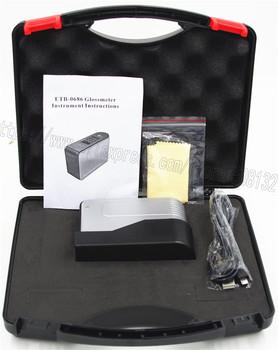 Glossmeter ETB-0686 0-200Gu Tester połysku do malowania granitowego drewna Test powierzchni połyskomierz tanie i dobre opinie Brak NoEnName_Null