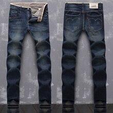 Мода дизайнерские джинсы мужчины марка джинсы брюки брюки джинсы Мужчины Известный Бренд Размер: 28-38
