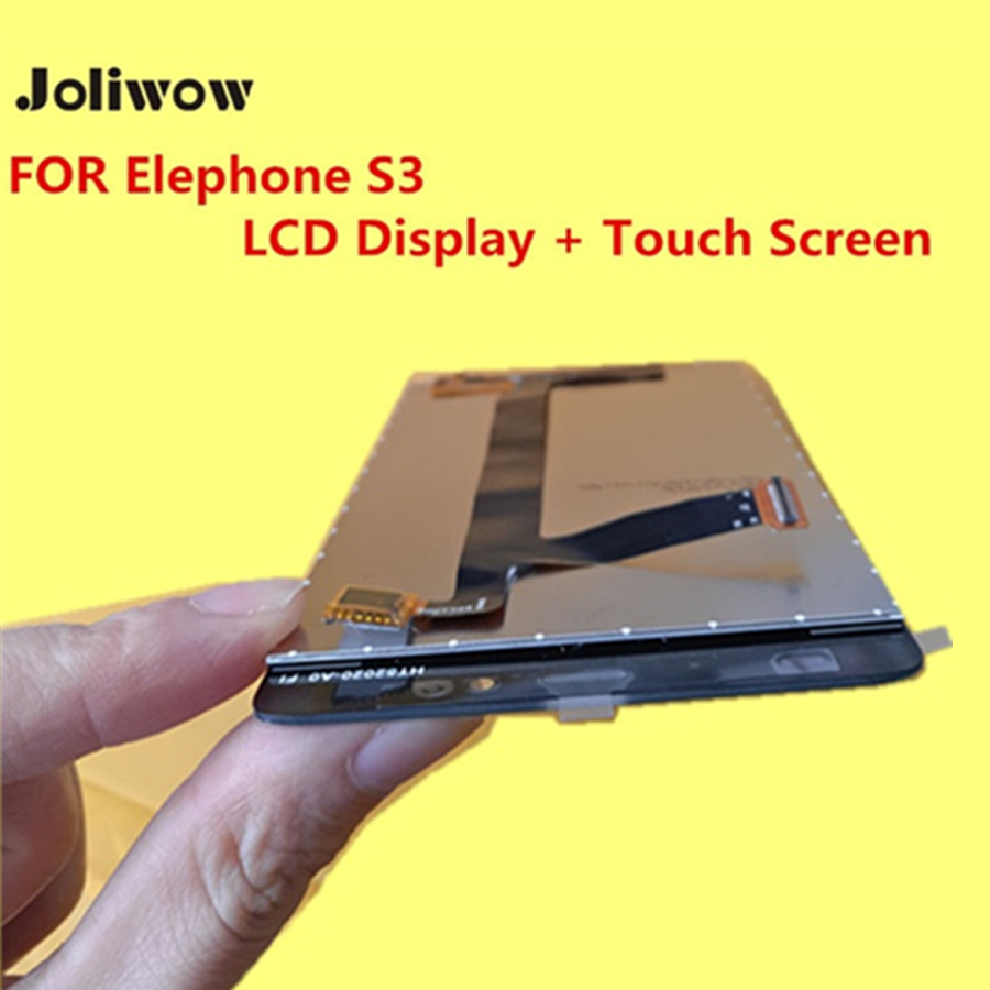FOR Elephone S3 LCD Display + Touch Screen +Frame+ Tools 100% Original Digitizer Assembly Replacement Accessories For Phone