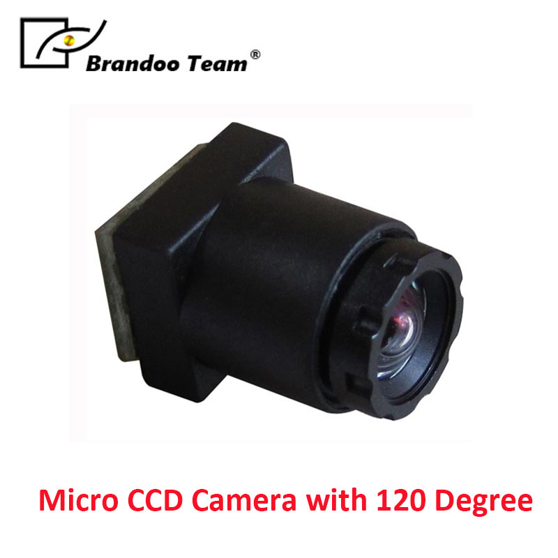 Cased Type Micro CCD Camera with 120 Degree Wide angle camera,free shipping micro ccd camera mini camera work with dvr 90 degree view angle