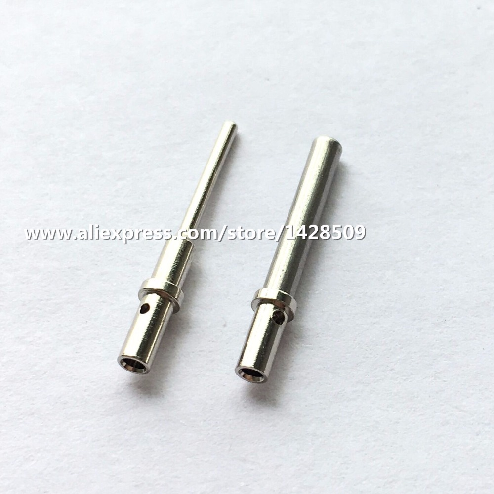 10pcs 20pcs DTM 0462-201-20141/AT62-201-20141 0460-202-20141 Solid Terminal Size 20 AWG Deutsch Pin Female Male w2dt crimper hdt 48 00 harley cater piller hand tool for deutsch connector deutsch dt dtm dtp terminal w2 pliers 12 26 awg