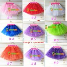 Wholesale Sequins Tutu Pettiskirt Girls Dance Party Skirt Children Fancy