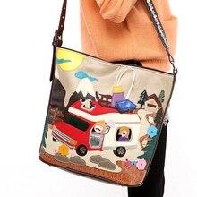 31x35CM 2016  Summer Autumn And Winter Handbags Retro Panelled Colors Messenger Shoulder Bag Big Trend Cute Post A2607~3