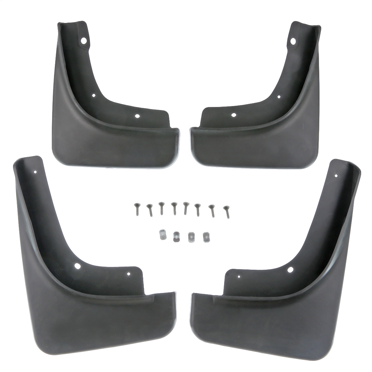 Set of 4 Mud Flaps Kit Fit For Jeep Compass 2017 2018 Splash Guards 82214642AE