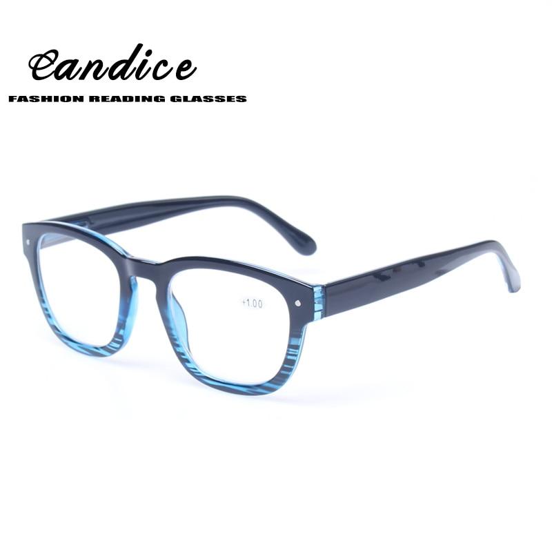 Women s Large Frame Reading Glasses : Reading Glasses Great Value Stylish Design Spring Hinge ...