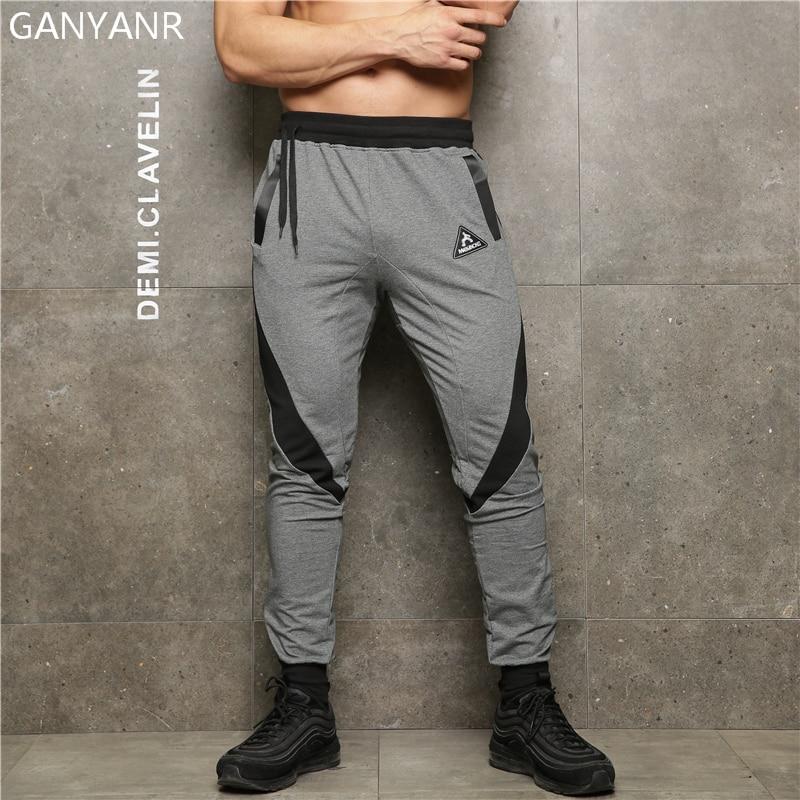 GANYANR Running Pantalones Hombre Deportes Polainas Jogging - Ropa deportiva y accesorios