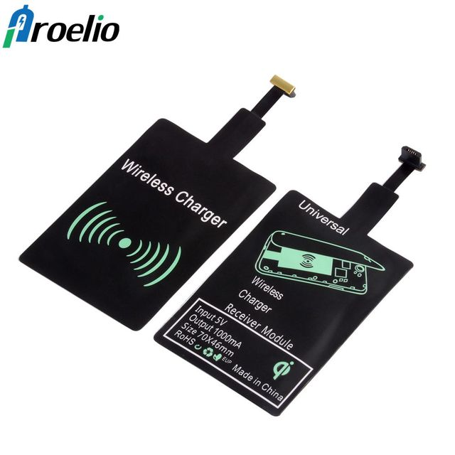 Aliexpress com : Buy Qi Wireless Charger Receiver for iPhone Adapter  Receiver Pad Coil Android Phone Micro USB Type C Type C For Samsung A5 2017  S8