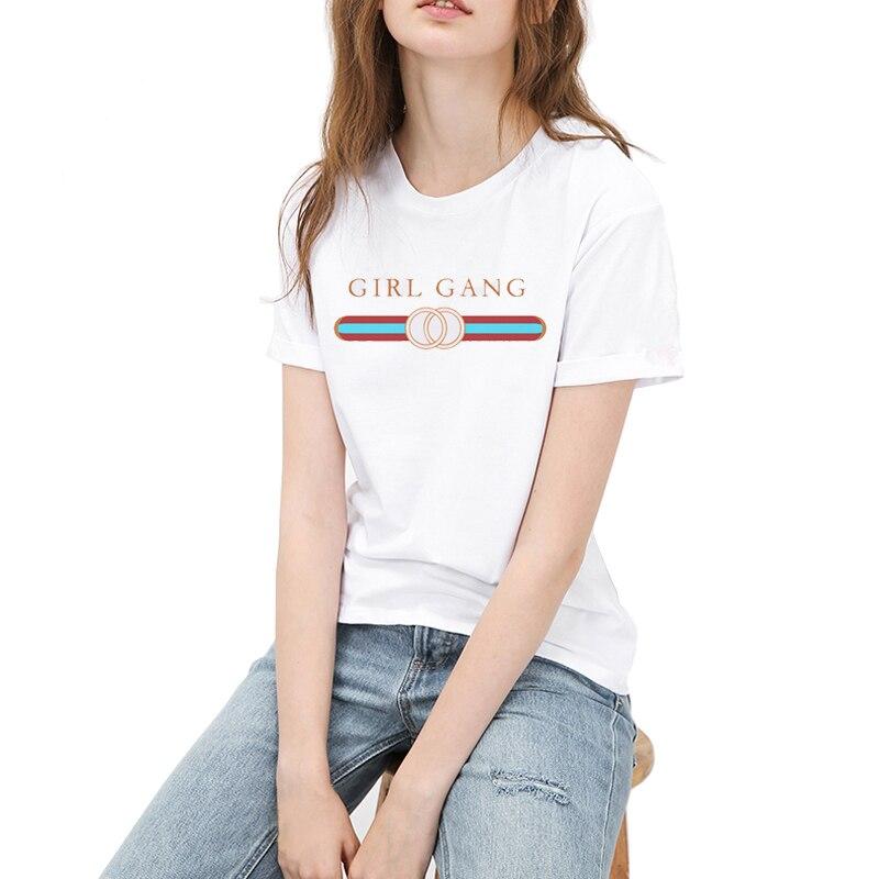 HTB1pPpHSVXXXXX8XVXXq6xXFXXXF - Hot Sale Women T Shirt Girl Gang PTC 114