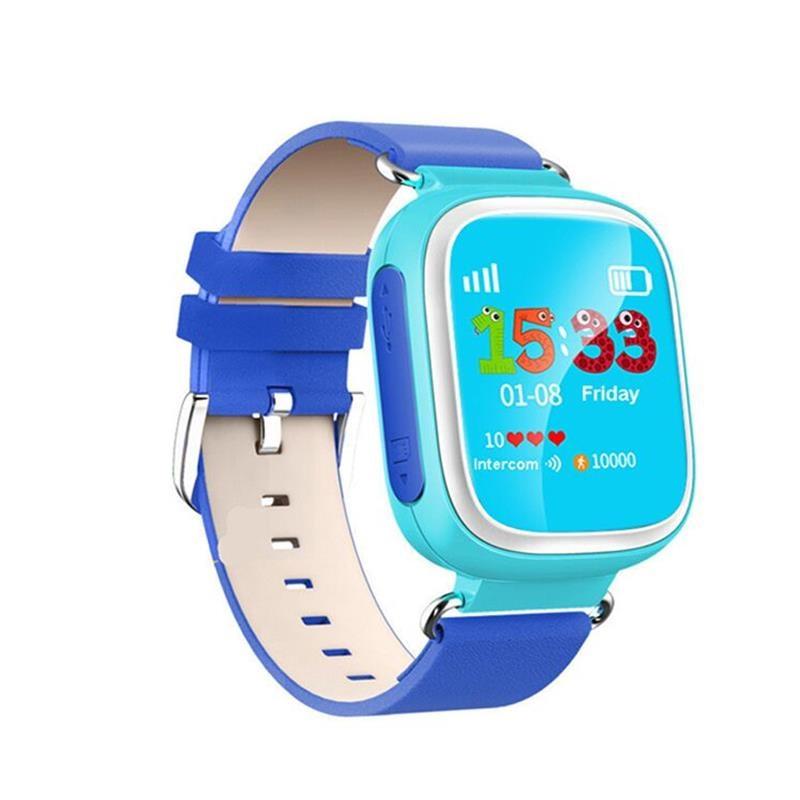 Smart Watch Q80 lastele SOS Call Location Finder Locator Device Tracker Lapsed Anti-Lost Wristwatch Parim kingitus lastele
