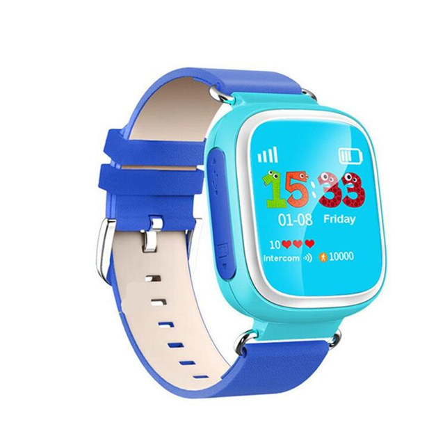 Smart watch q80 para crianças chamada sos localizador localizador dispositivo rastreador crianças anti-perdido relógio de pulso melhor presente para as crianças