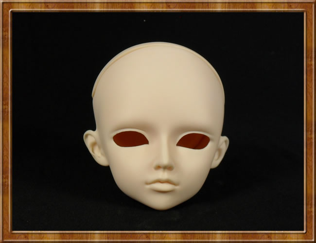 1/3 BJD Head For Practice DIY Face Makeup Head Model Doll Accessory 25cm 100cm doll wigs hair refires bjd hair black gold brown green straight wig thick hair for 1 3 1 4 bjd diy