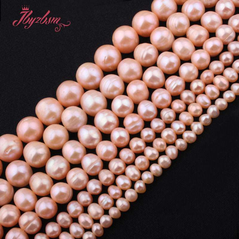 Free Shipping Natural Purple Drop Drilled Strand Baroque Irrugular Pearls Beads For Jewelry Making Diy Bracelet Necklace Handsome Appearance Jewelry & Accessories
