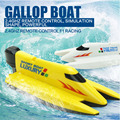 RC Boat Speed Remote Control 4CH Speedboat Gallop Boat 2.4GHZ Remote Control F1 Racing Simulation Shape Powerful Outdoor Toy