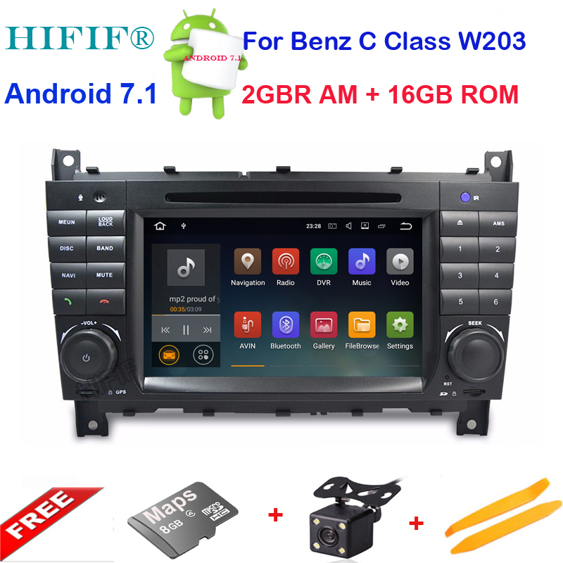 HD capacitive screen Car DVD for Mercedes <font><b>Benz</b></font> C Class <font><b>W203</b></font> 2004-2007 c200 C230 C240 C320 C350 CLK W209 2005 Sat <font><b>Navi</b></font> GPS <font><b>Radio</b></font> image