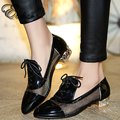New Fashion Women Shoes Breathable air mesh  Rough med  Heels Pumps Comfortable slip-on leisure Shoes  big size 32-44