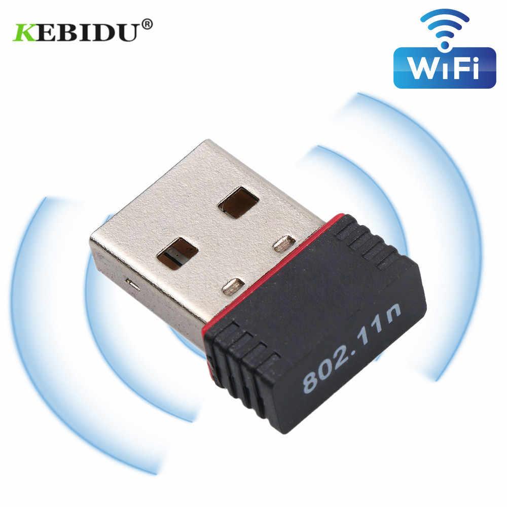 KEBIDU mini usb wifi wireless adapter 150mbps hohe qualität wifi empfänger 802,11 n/g/b Für telefon notebook Pro Air Win Xp 7