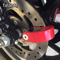 Motorcycle Moto Motor Bike Disc Brake Lock Waterproof 110db Security Burglar Alarm Lock 6 Colors