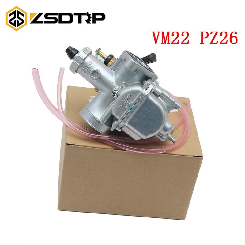 ZSDTRP 125cc Dirt bike Pit Bike Mikuni VM22 Carburetor Performance For 125 140cc XR50 CRF70 Horizontal Engine PZ26 26mm クリア バック ショルダー 大人