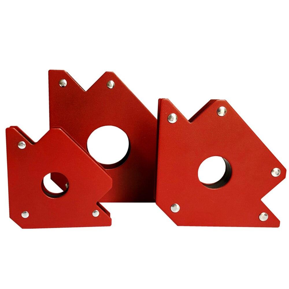 1pc 25LBS Triangle  Magnetic Magnet Arrow Welder Welding Holder Mini Soldering Arc