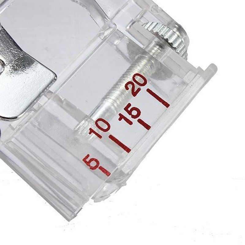 1 Uds. De encuadernación con cinta de sesgo ajustable pie prensatelas para Brother accesorios para máquinas de coser 5BB5732