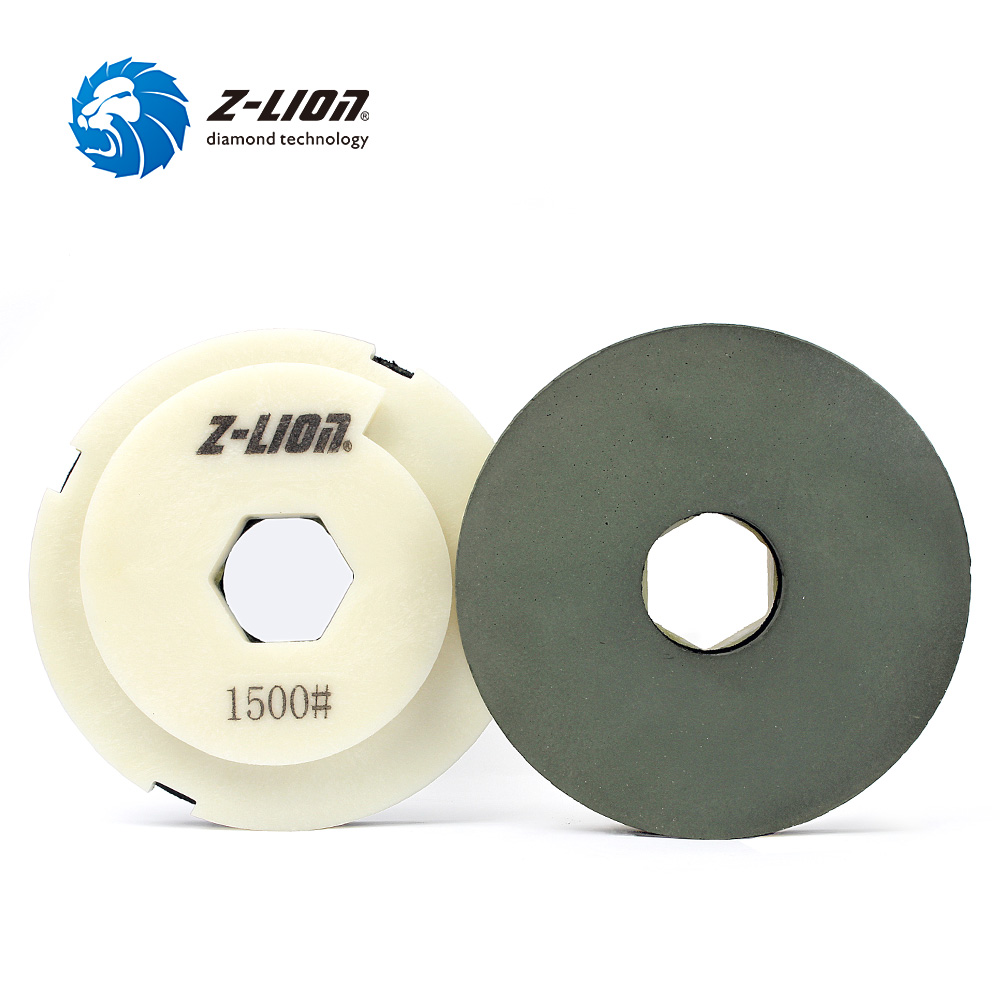 Z-LION Diamond Edge Polishing Pad Snail Lock Polishing Wheel Diamond Sanding Pad Stone Marble Granite Grinding Tool цена