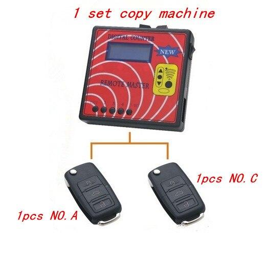 Цена за OBD2tool Новые 030 Цифровой Счетчик Remote Master Дисплей Частоты Дубликатор Дистанционного Управления/копир с 2 шт. удаленных ключей