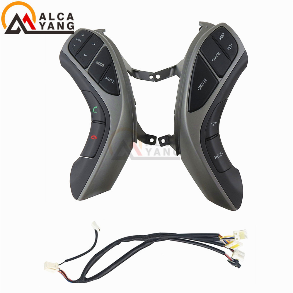 For Hyundai Elantra I30 2012 2013 2014 2015 2016 Combinatio Switch Multifunction Steering Wheel Audio Button
