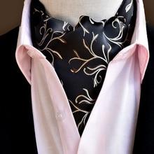20 Styles 2019 Fashion Men Vintage Polyester Silk Print Paisley Scarf Polka Dot Scarves England Jacquard Weave Neck Ties Wedding