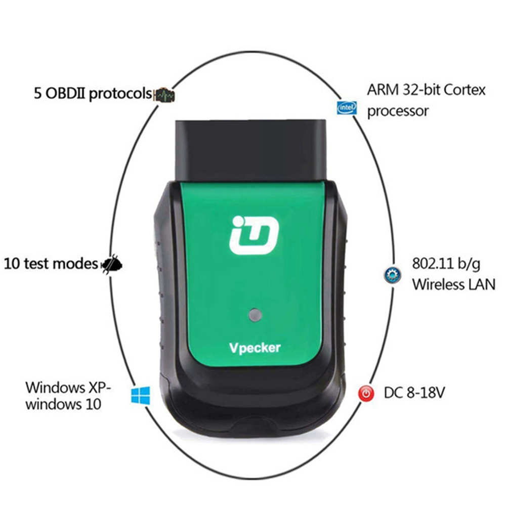 Image 5 - VPECKER WIFI OBD2 Scanner V11.2 Full System Car Diagnostic Scanner for Multi Brand Vehicles Autoscanner Tool Same as Easydiag-in Car Diagnostic Cables & Connectors from Automobiles & Motorcycles
