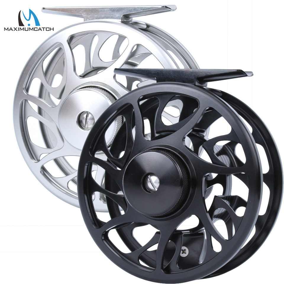 Maximumcatch 06N Large Arbor Fly Fishing Reel 2/3/4/5/6/7/8/9/10WT CNC Machine Cut Aluminum Fly Reel maximumcatch hvc 3 10 wt exclusive super light fly reel cnc machine cut fly fishing reel large arbor aluminum fly reel