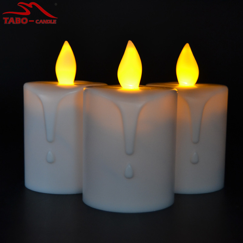Solar Powered Christmas LED Window Solar Candles Outdoor Candle Lamp For  Patio(China (Mainland