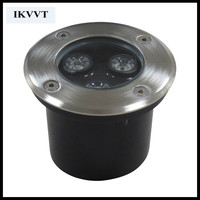 RGB outdoor led terrace light 5w waterproof IP67 220V Super bright 5 led for garden ,yard outdoor recessed floor light