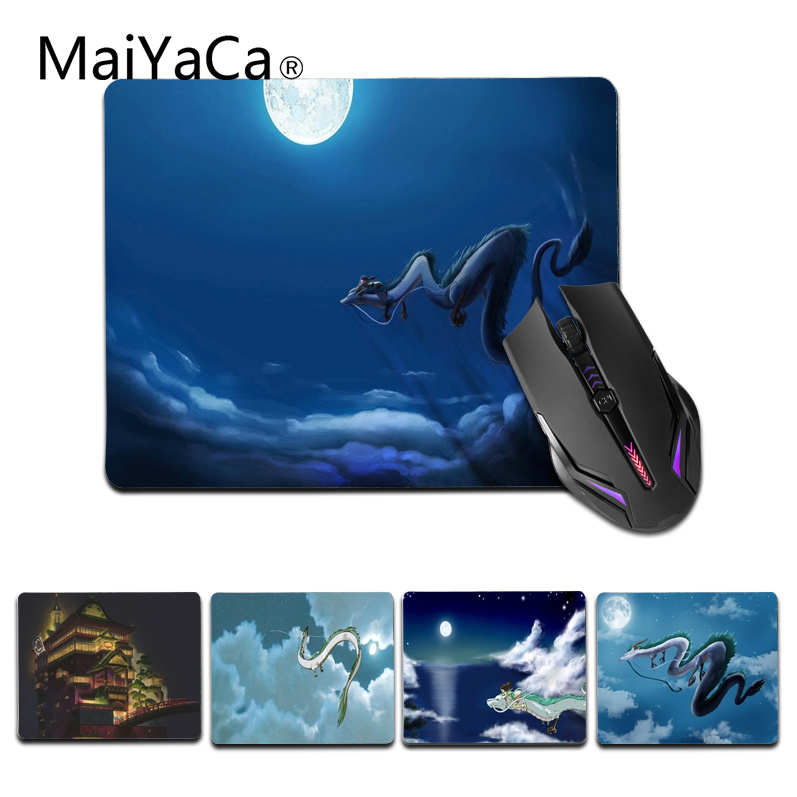MaiYaCa Funny Miyazaki Customized laptop Gaming small mouse pad Size for 25X29cm Silicon Mousemats