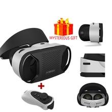 Шлем Стерео VR gerceklik виртуальной реальности Очки 3 d 3d очки гарнитура шлем для смартфонов смартфон коробка Google cardboard