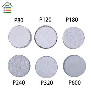 Image 3 - 61pc Sanding Disc 80 600 Mixed Grit Sander Discs 2 Inch 50mm Sandpaper Polishing Pad Plate for Dremel 4000 3000 Abrasive Tools