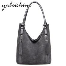 Gray bags for women tassel luxury handbags women bags designer shoulder bag Lady Crossbody Bag High end tote sac a main femme