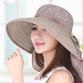 Summer hat female sunbonnet female sun hat large sunscreen folding fashion anti-uv beach cap