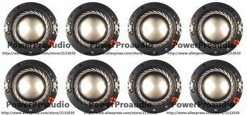 8pcs 44.4mm 44.5mm  2425 titanium diaphragm Tweeters voice coil  Replacement Diaphragm for Samson CD44T Driver 8 ohm