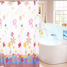 High-quality polyester water-proof mildew bath curtain hook (180 * 200cm)