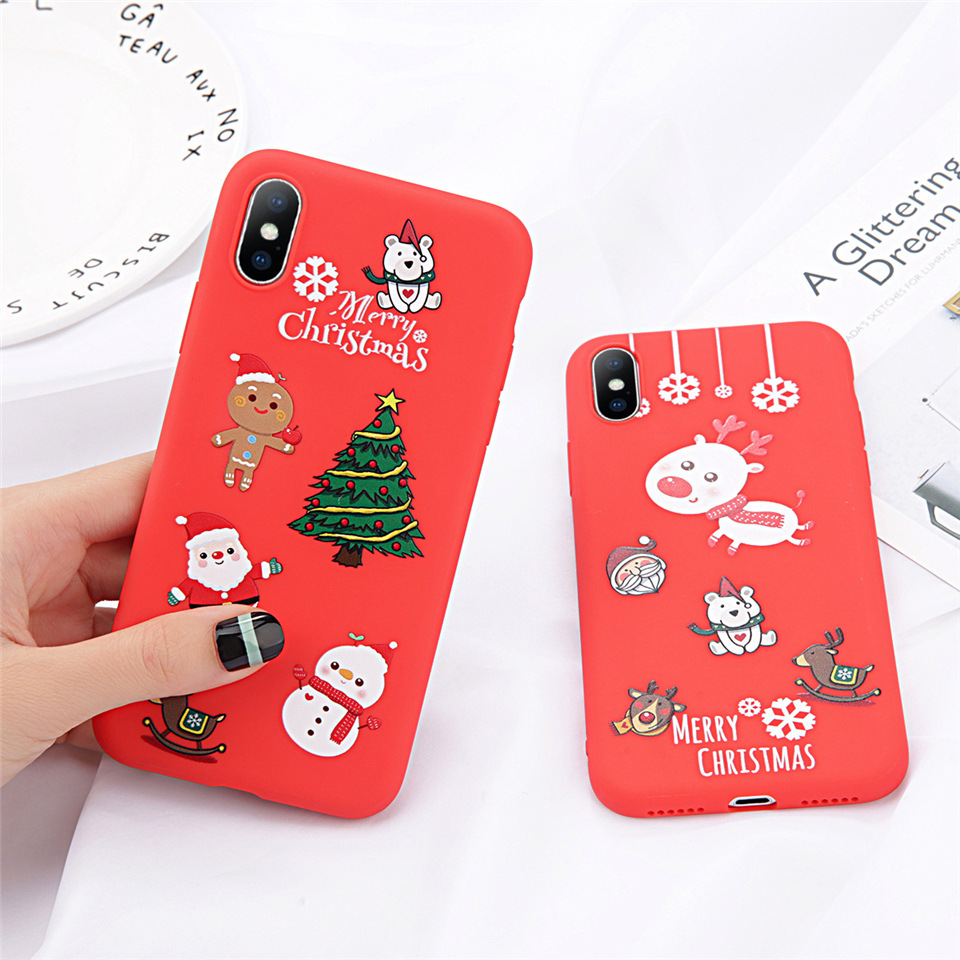 63397007bd Lovebay Phone Case For iPhone 6 6s 7 8 Plus X XR XS Max Cute Cartoon ...