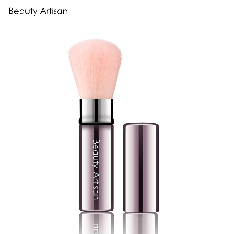 1PC New Retractable Makeup Brushes Professional Face Powder Blush Brush Cosmetic Brush Tools Portable Soft Makeup Blusher Brush лоферы renda renda re031awxhb43