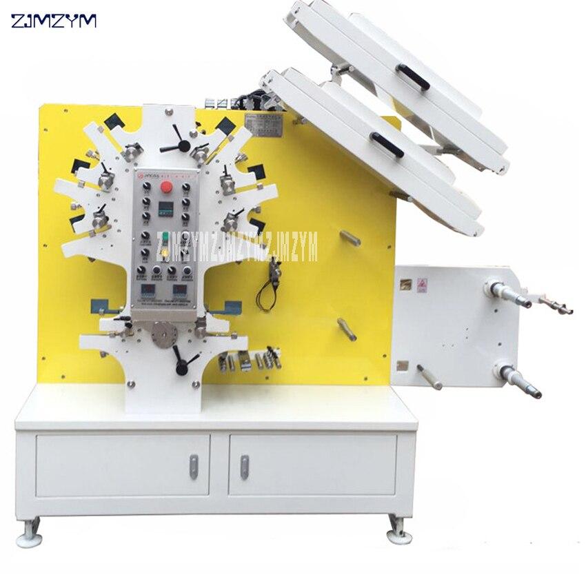Gelernt Label Flexodruck Maschine Flexo Drucker Für Bekleidungs Waschen Pflege Etiketten 6 Farben Und 2 Farben Jr-1262 Brief Drücken